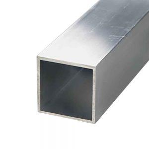 Aluminium vierkante koker